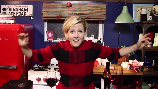 Hannah Hart - My Drunk Kitchen Valentines Day